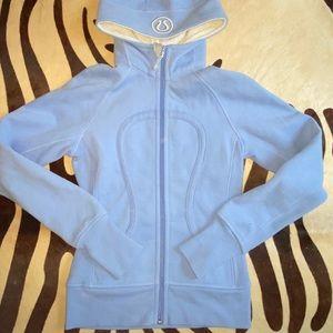 Lululemon size four light blue jacket